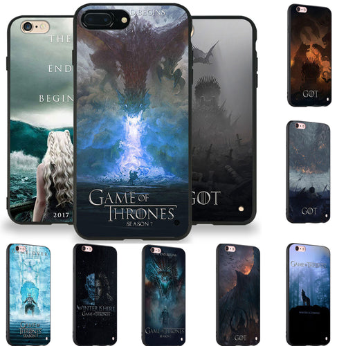 31% OFF LIMITED TIME OFFER - Game of Thrones iPhone Silicone Case Cover - 10 Designs