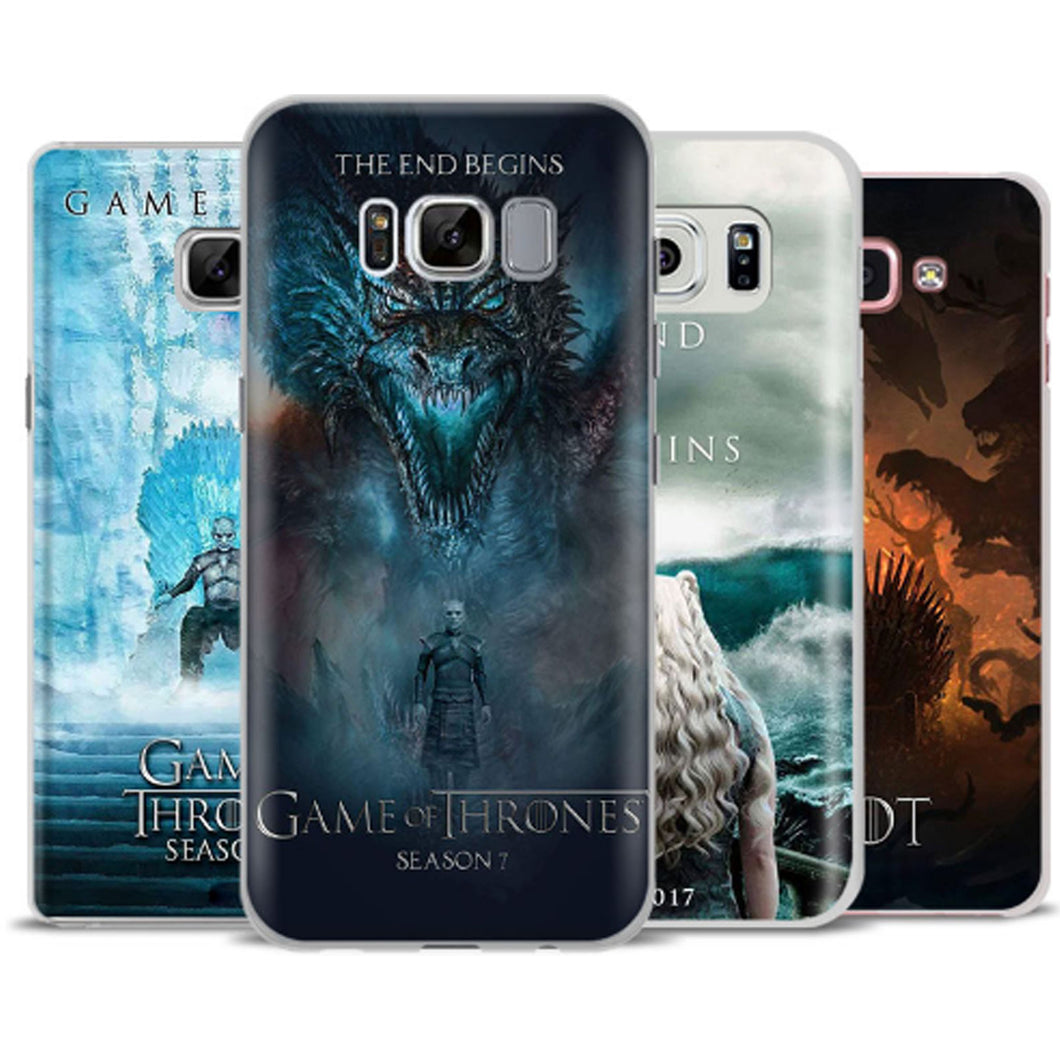Game of Thrones Season 7 Silicone Phone Case Cover for Apple ...