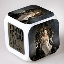 28% OFF LIMITED TIME OFFER - Game of Thrones - Targaryen - LED 7 Colours Changing Alarm Clock