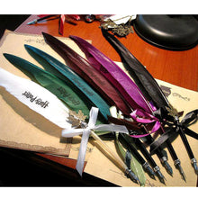 Harry Potter Owl Feather Calligraphy Pen - 6 Colours