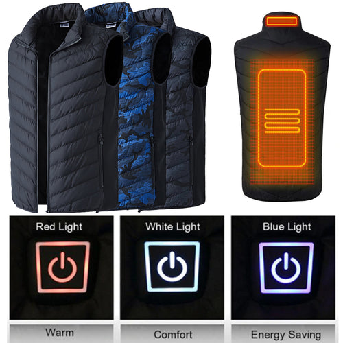 USB Smart Intelligent Back and Neck Extendable Heated Vest