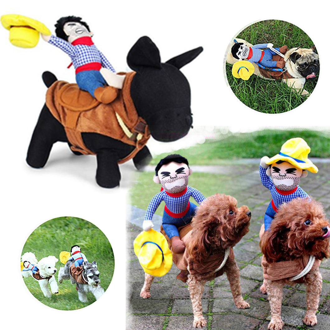 33 Off Limited Time Offer Dogs Cowboy Riding Horse Costume 30cm My Screen Addiction