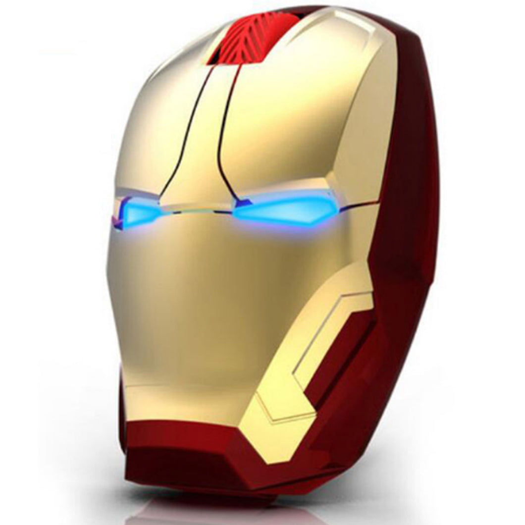 Iron Man Light-Up Eyes Wireless Gaming Mouse