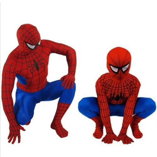 25% OFF - LIMITED TIME OFFER - Kid and Adult Spider-Man Costume