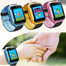 Kid's Touch Screen Smart Watch - GPS, Flashlight, Camera, SOS Call, Games and More