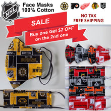 *PROMO* NHL Hockey Team Face Mask (Licensed Fabric)