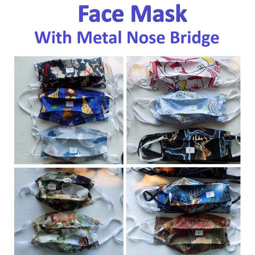 Cloth Face Mask - MADE IN CANADA