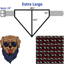 Movie Characters Single Sided - Slip Over Collar Dog and Cat Bandana (Licensed Fabric)