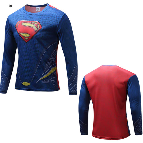 Superman Fitness Long Sleeve Shirt