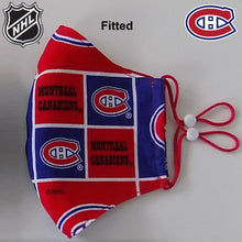 *PROMO* NHL Montreal Canadiens Hockey Team Face Mask (Licensed Fabric)