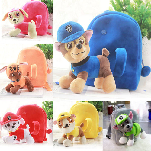34% OFF - LIMITED TIME OFFER - Paw Patrol Kid's Detachable Plush Toy Backpack