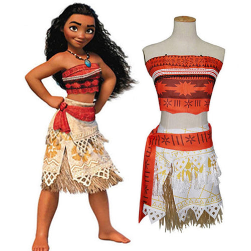 37% OFF - LIMITED TIME OFFER - Kid and Adult Princess Moana Costume