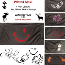New Models - Printed Face Mask - Printed and Shipped from Canada