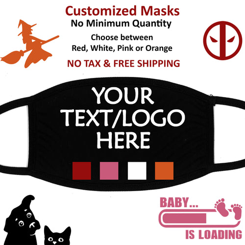 $15 + $5 - Custom Face Mask - Printed and Shipped from Canada