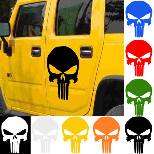 Punisher Wall, Car and Window Sticker - 44 x 30cm