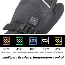 16% OFF - LIMITED TIME OFFER - Rechargeable Touch Screen Heated Gloves - 5 Heating Levels