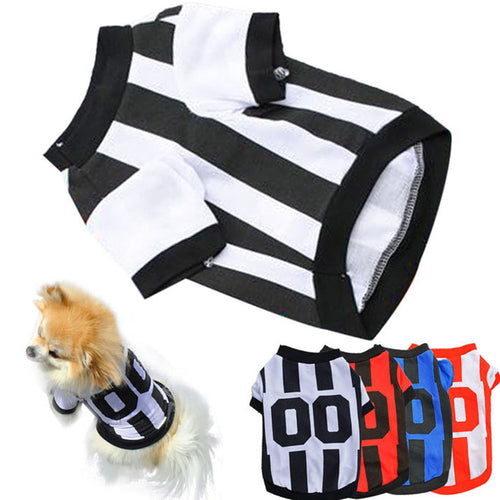 25% OFF - LIMITED TIME OFFER - Referee Style Dog Shirt