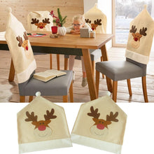 25% OFF - LIMITED TIME OFFER - Reindeer Holiday Chair Covers - 4 or 8 Pcs Set