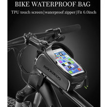 50% OFF - LIMITED TIME OFFER - Waterproof Bicycle Frame Bag with Touch Screen Mobile Phone Pocket