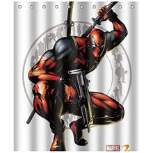 Deadpool Fabric Shower Curtain