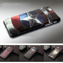Embossed Superhero iPhone Case
