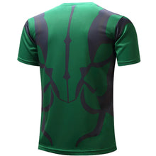 Superheros Fitness Compression Short Sleeve Shirt - Agents of S.H.I.E.L.D., Hulk