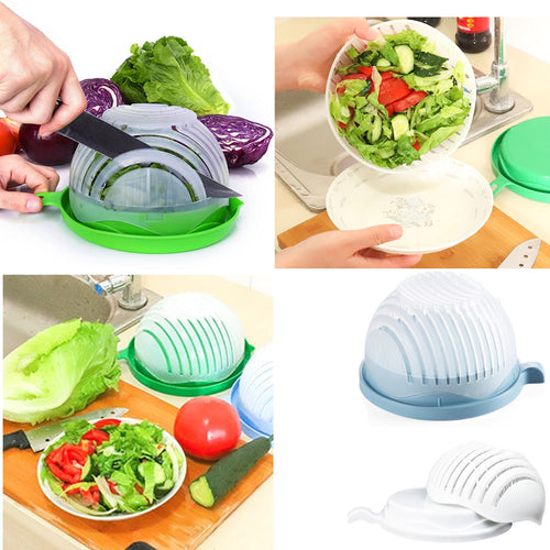 20% OFF - LIMITED TIME OFFER - 1 Minute Salad Cutter Bowl