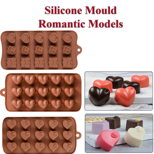 33% OFF - LIMITED TIME OFFER - Candy, Chocolate, Baking Romantic Silicone Mould