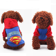 Small Dog Superman Hoodie - 2 Colours