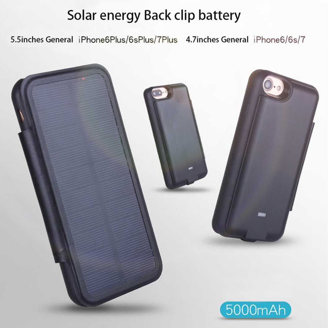 22% OFF - LIMITED TIME OFFER - iPhone Solar Phone Case Charger - 6, 6S, 7,  6 Plus, 6S Plus, 7 Plus