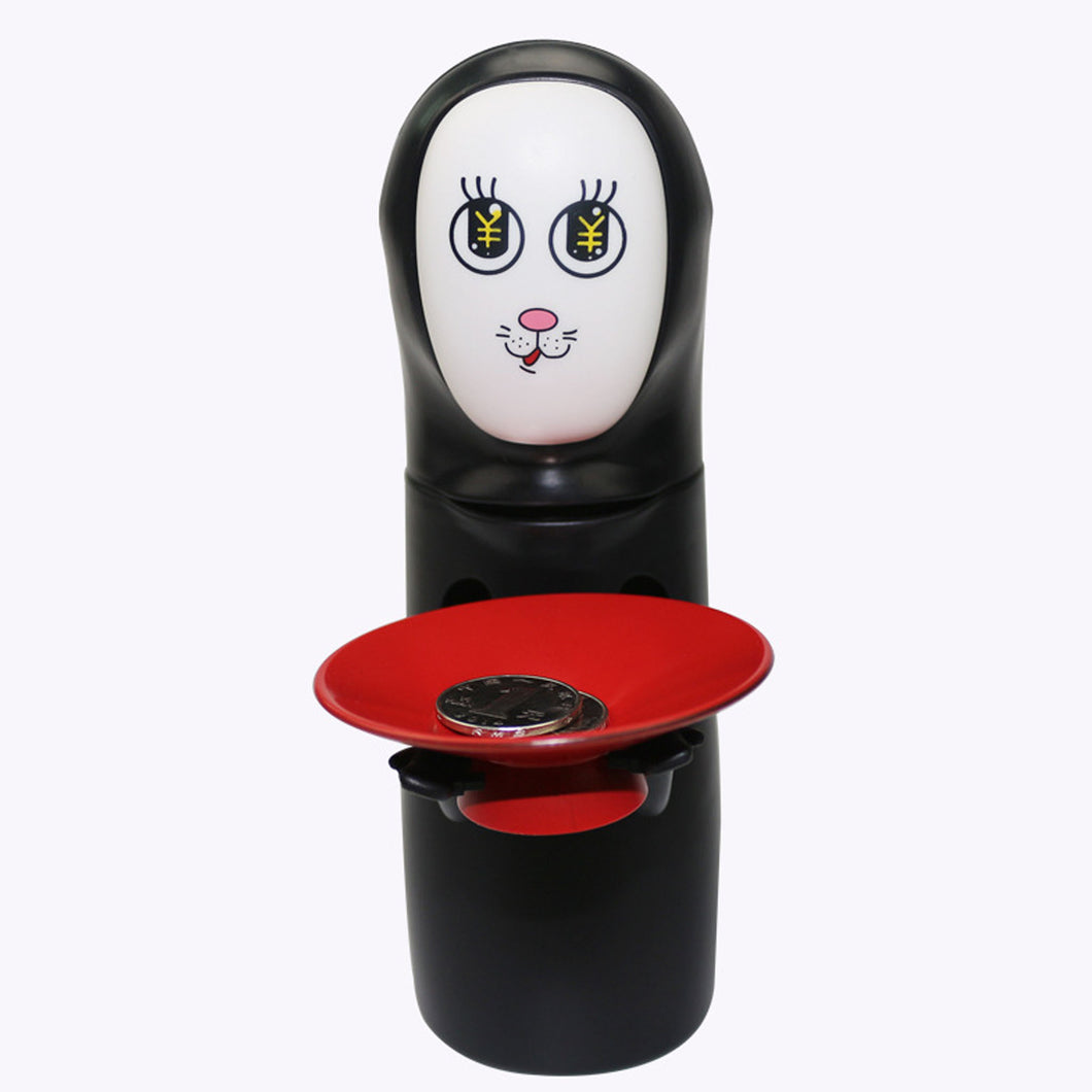 40% OFF - LIMITED TIME OFFER - Spirited Away Kaonashi No-Face Eating Coins Bank