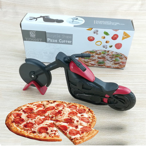 25% OFF - LIMITED TIME OFFER - Stainless Steel Motorcycle Pie and Pizza Cutter