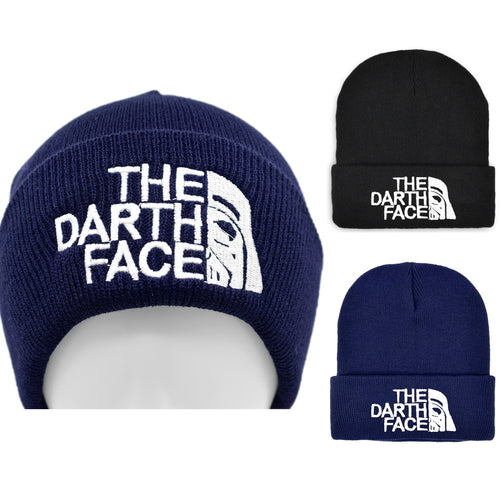 16% OFF - LIMITED TIME OFFER - Star Wars The Darth Face Winter Beanie Hat