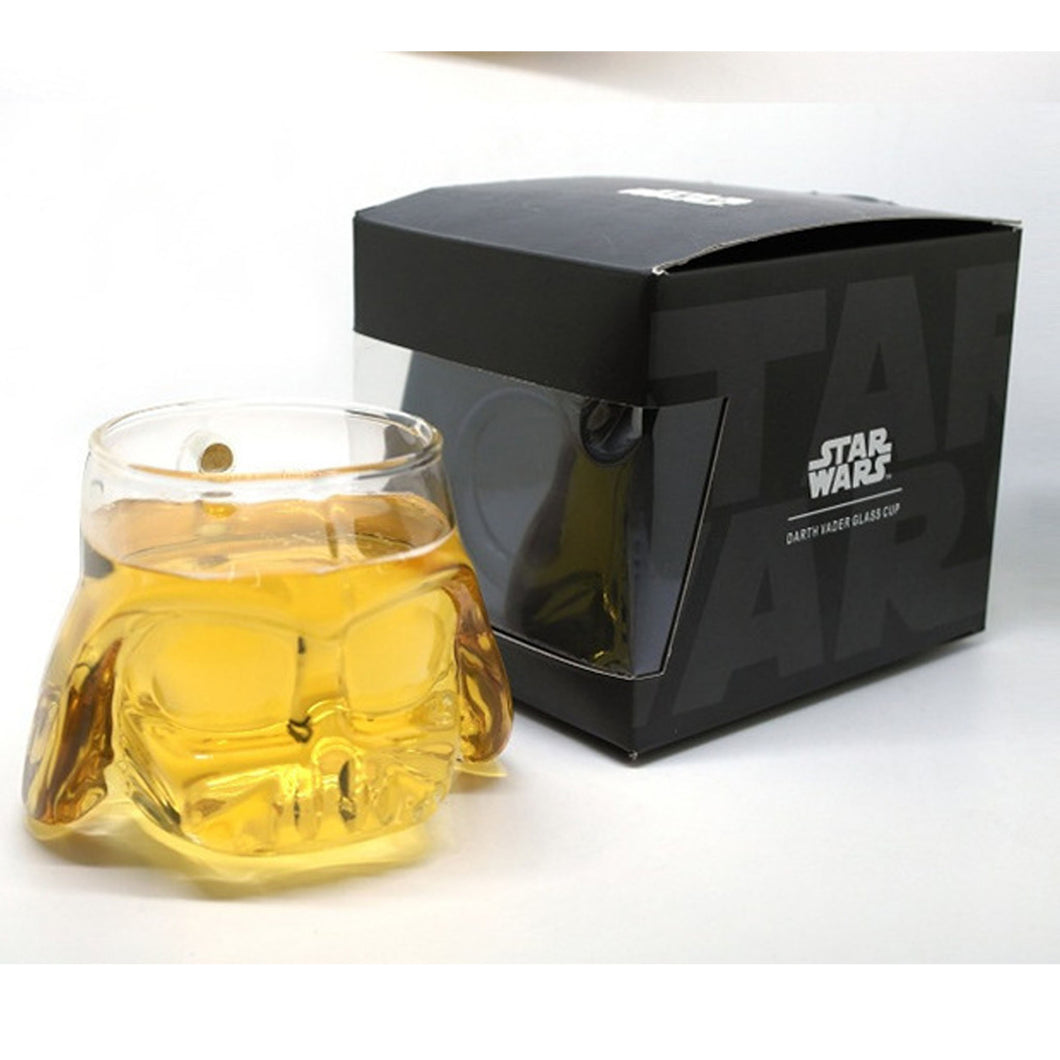17% OFF - LIMITED TIME OFFER - Star Wars 3D Transparent Darth Vader Glass Cup