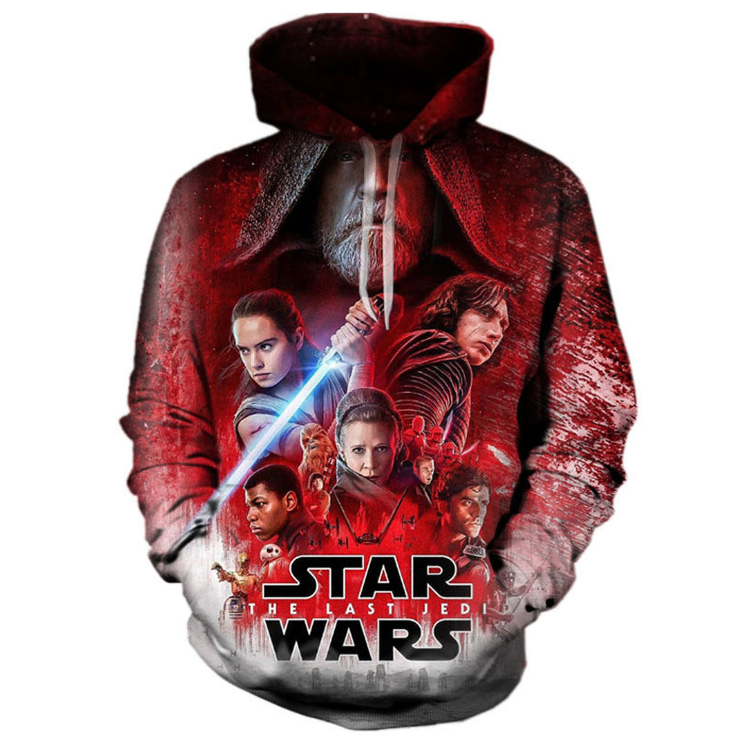 Star Wars: The Last Jedi 3D Hoodie