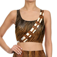 Star Wars Chewbacca Women Fitness 2-Pces Set - Leggings and Top