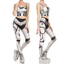 Star Wars Stormtrooper Women Fitness 2-Pces Set - Leggings and Top