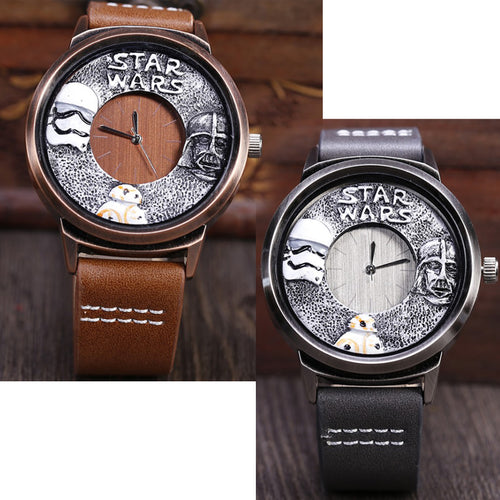 Star Wars Wood Effect Watch