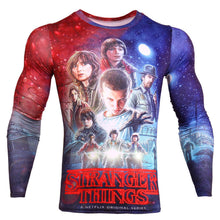 Stranger Things Long Sleeve Compression Shirt