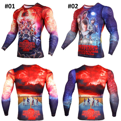 33% OFF LIMITED TIME OFFER - Stranger Things Long Sleeve Compression Shirt