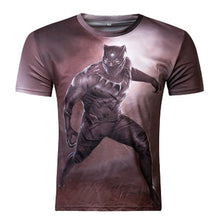 Black Panther Fitness Double Sided Short Sleeve Shirt