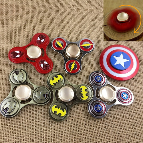 Superhero Metal Fidget Spinner