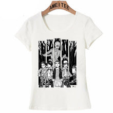 Stranger Things Round Collar Woman T-Shirt - 4 Models