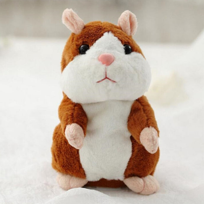 40% OFF - LIMITED TIME OFFER - Talking Hamster Plush Toy - Repeats Everything You Say
