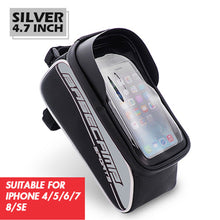 50% OFF - LIMITED TIME OFFER - Rainproof Bicycle Frame Bag with Touch Screen Mobile Phone Pocket