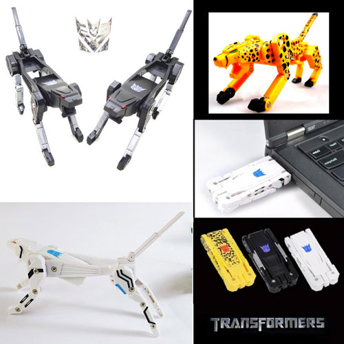 UP TO 20% OFF - Transformers Dog USB Memory Drive -  4GB 8GB 16GB 32GB 64GB