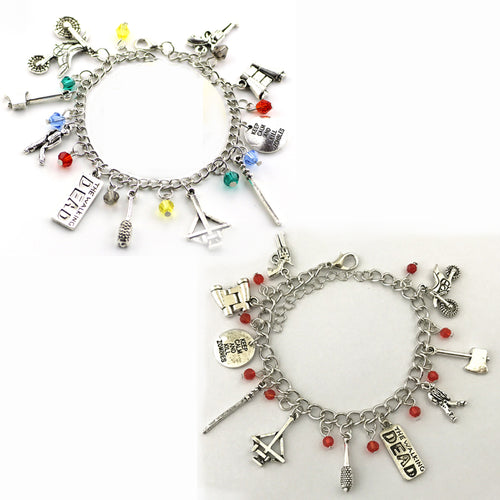 Walking Dead Charm Bracelet - 2 Colours