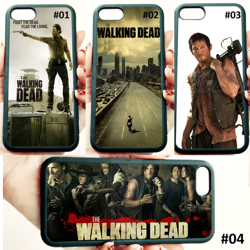 Walking Dead iPhone Case -  5c, 5s, 6, 6+, 7, 7+