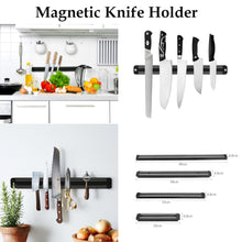 Wall Mounted Magenetic Knife Holder - 20, 33, 38 or 48cm