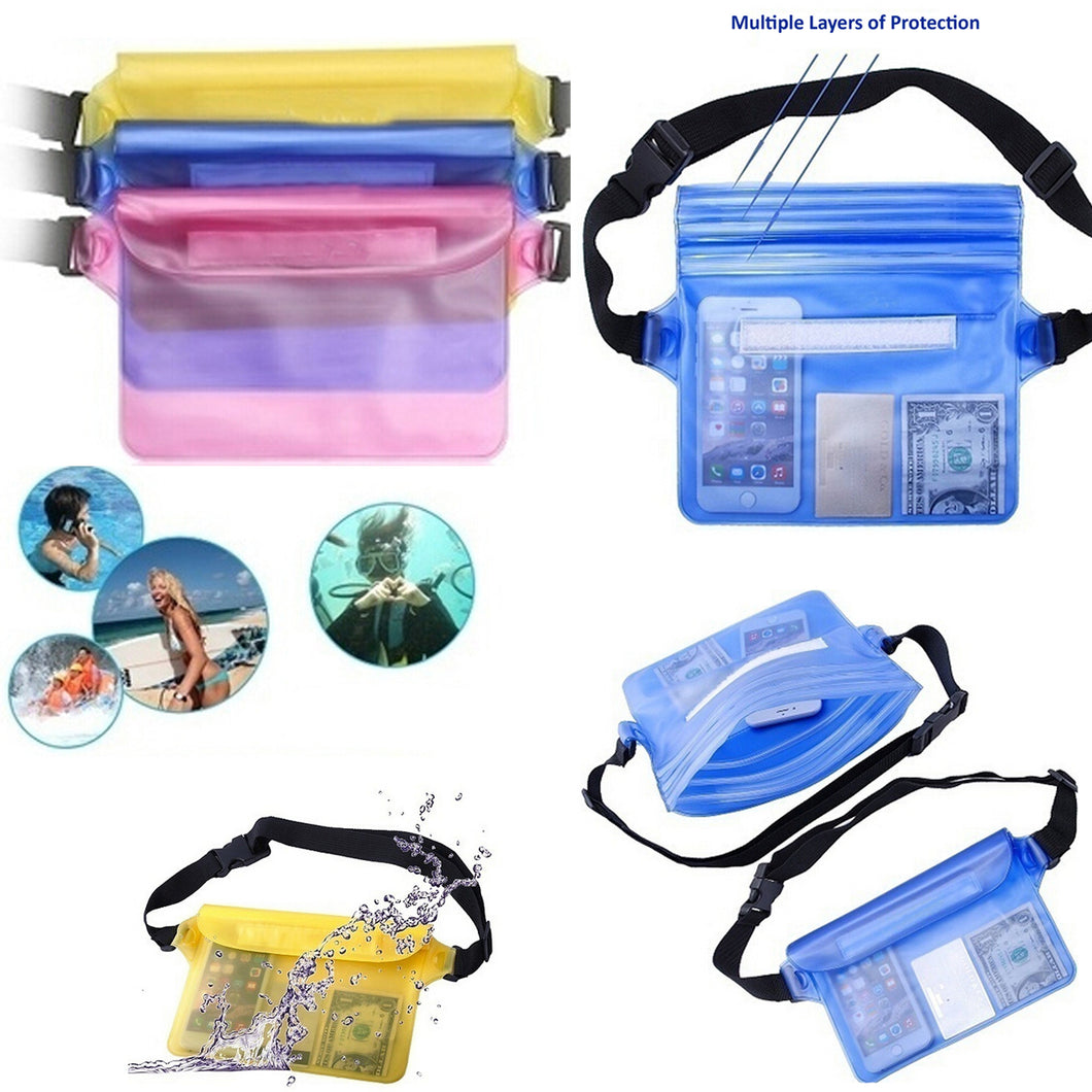 Waterproof Outdoor Activities Waist Bag - 15cm x 22cm